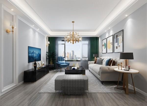 万璟华府现代新房住宅装修设计效果图