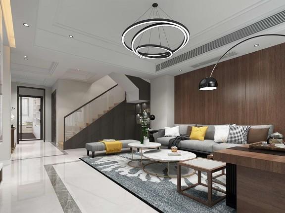 日月星辰  现代新房住宅装修设计效果图