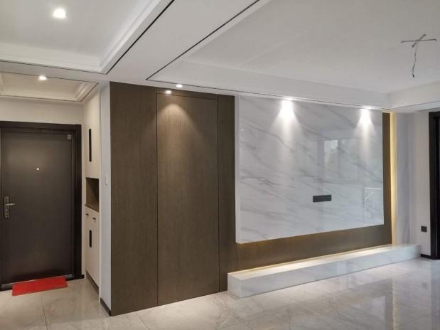宁波鄞州 钱湖人家三期162幢304室 雅致主义新房住宅装修设计效果图