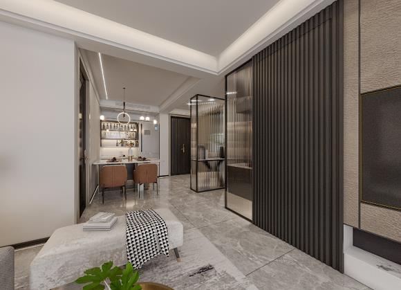 碧水云台现代新房住宅装修设计效果图