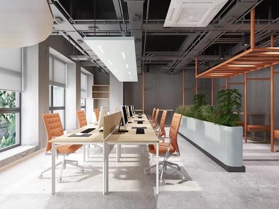 中物科技园睿特菲体育科技办公室装修-简约写字楼办公室装修设计效果图