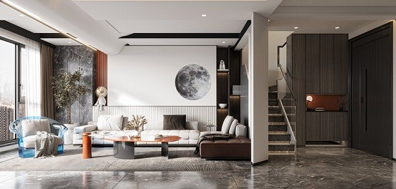 碧桂园现代新房住宅装修设计效果图