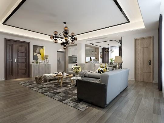 泗门佳悦城   现代新房住宅装修设计效果图