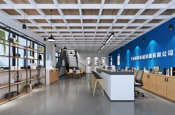 五乡厂房办公室装修-现代写字楼办公室装修设计效果图