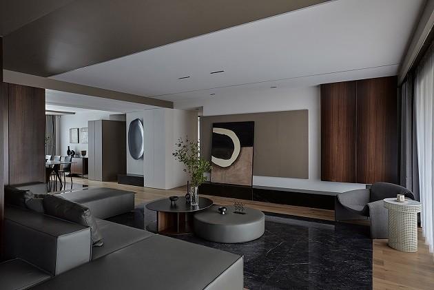 丰汇城装修案例-现代新房住宅装修设计效果图