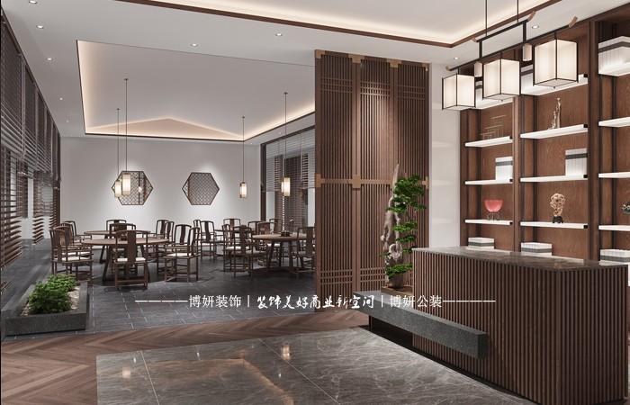 南庙大酒店装修-中式酒店宾馆装修设计效果图